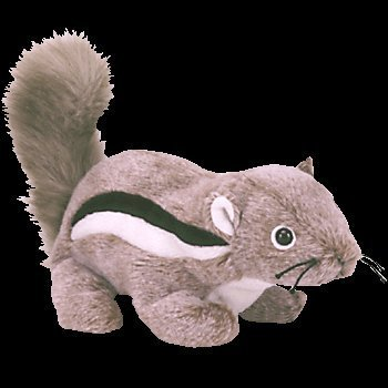 TY Beanie Baby - CHIPPER the Chipmunk by Ty