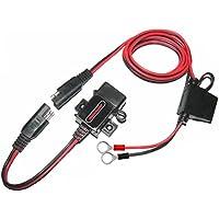 motopower 0609un amplificador de 3.1USB Charger Kit SAE A USB adaptador impermeable para motocicleta