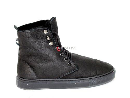 Noir 55941 Hi Top homme Sneakers Noir Moschino wXqPxdX