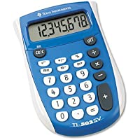 TI-503SV Pocket Calculator, 8-Digit LCD, Total 12 EA, Sold as 1 Carton