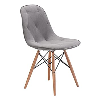 Zuo Modern Probability Dining Chair, Gray