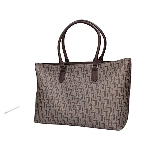 Trussardi De 9y099999 75b00548 Mujer Bolso Jeans Taupe Hombro BwqHBCZx8