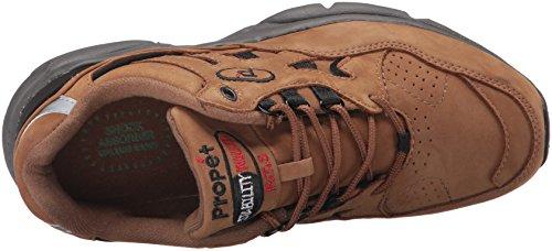 Propet Heren Stabiliteit Wandelaar Sneaker Chocolade / Zwart N Usubuck