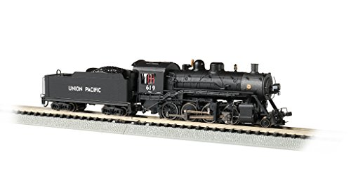 Baldwin 2-8-0 DCC Sound Value Econami Equipped Locomotive - Union Pacific #619 - N Scale