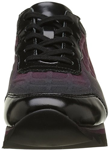 Gabor Shoes Jollys, Zapatos de Cordones Derby para Mujer Multicolor (Bordo MULTIC. 45)