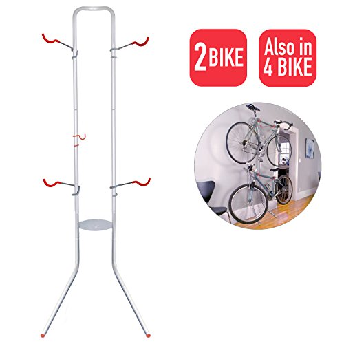 Bicycle Garage Stand - Delta Cycle Michelangelo Canaletto Two Four Bike Gravity Stand Garage Indoor Storage Adjustable