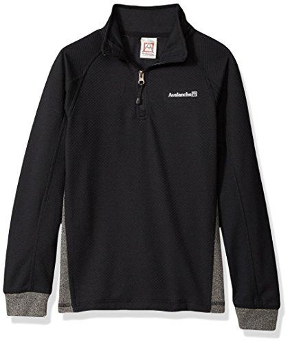 big quarter zip fleece pullover