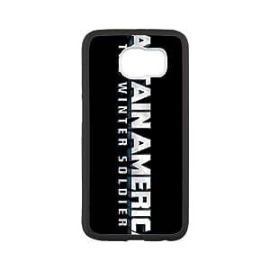 Comics Captain America The Winter Soldier logo Samsung Galaxy S6 Cell Phone Case Black FRGAG6410917627872
