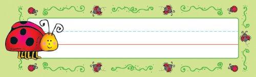 Carson Dellosa D.J. Inkers Ladybugs Nameplates (622012) ()