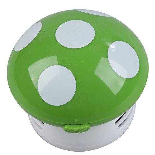 [해외]SODIAL (R) New 홈 휴대용 버섯 모양의 미니 진공 청소기 차량용 노트북 키보드 데스크탑 먼지 청소기 - 녹색/SODIAL(R)New Home Handheld Mushroom Shaped Mini Vacuum Cleaner Car Laptop keyboard Desktop Dust cleaner-green