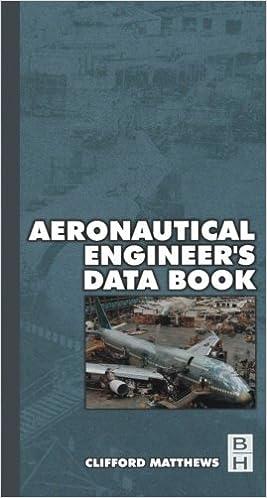 Aeronautical Engineer's Data Book by Cliff Matthews (2001-11-13)