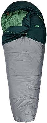 Unisex adulto Talla /única The North Face Equipment TNF Saco de dormir Aleutian Ultra Warm Darkest Spruce//Zinc Grey