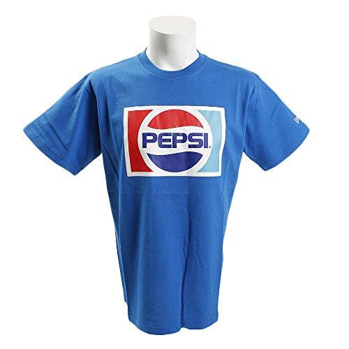 ニューエラ NEW ERA 半袖シャツ?ポロシャツ TEE PEPSI MID 1987 半袖Tシャツ ロイヤル M