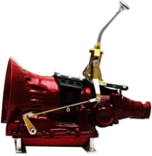 "Single Action Shifter Kit 16/"" Black Arm w// Bend and Black Knob E GM 4L80"