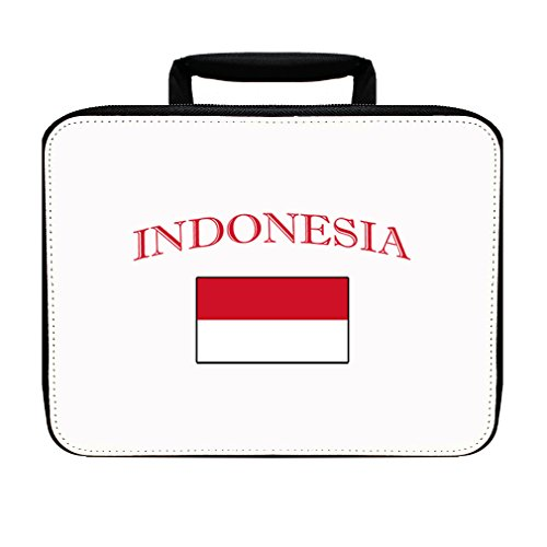 Indonesia Country Original Name Insulated Lunch Box Bag by Style in Print