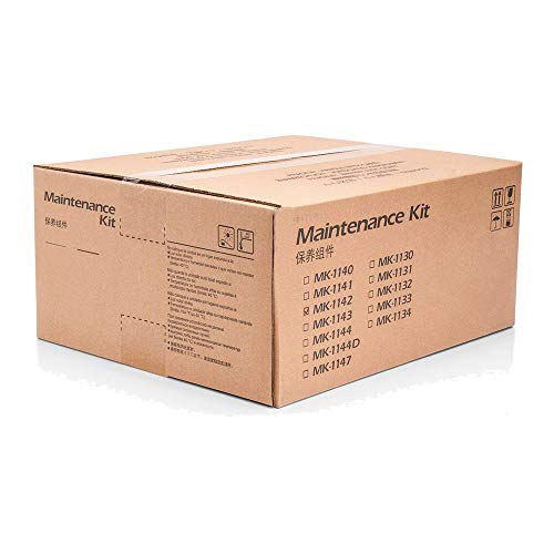 Kyocera 1702ML0KL0 Model MK-1142 Maintenance Kit for Ecosys M2035dn/M2535dn/FS-1035DN/FS-1135, Includes Drum Unit and Developer Unit, Genuine Kyocera, Up to 100000 Pages Yield Drum Unit Maintenance Kit