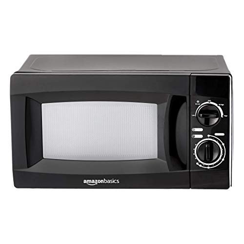 AmazonBasics 20 L Solo Microwave (Black)