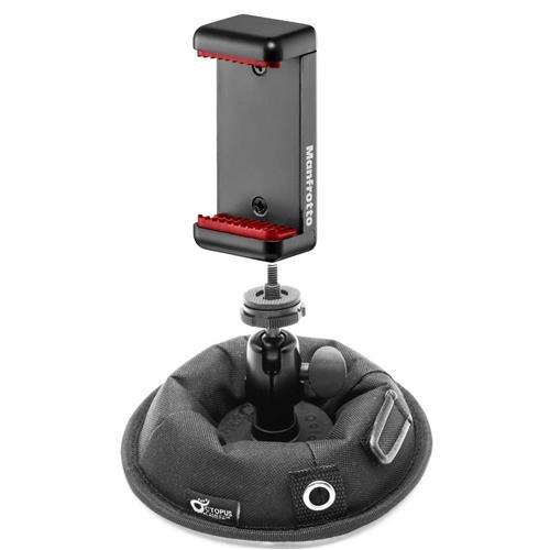 オクトパス。カメラOctopadユニバーサル高安定性Weightedサポートベースwith Removableボールヘッド – with Manfrottoユニバーサルクランプwith 1 / 4スレッドfor up to 3.2