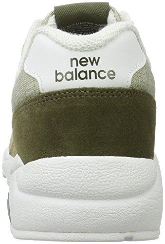 New Balance Mrt580, Botines para Hombre Plateado (Silver)