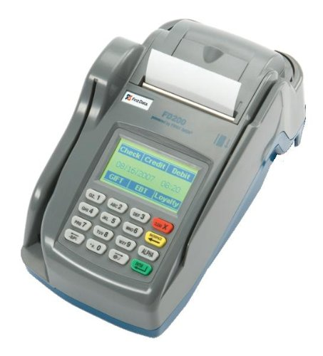 FD200 Credit Card Terminal (Credit Card Processing Machine)