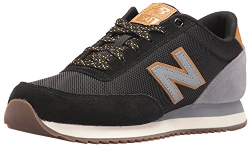 New Balance Men's 501 Fashion Sneakers, Black/Grey, 9 D US