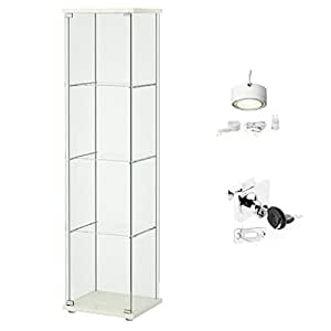 display cabinet ikea ikea detolf glass curio display cabinet white 14834