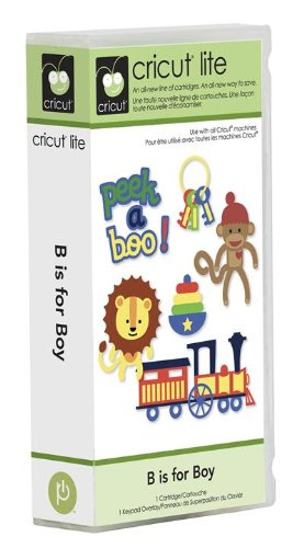 Cricut Lite Cartridge - B is for Boy