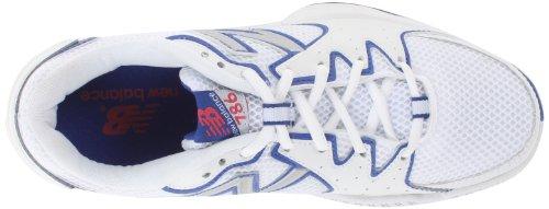 888098093469 - New Balance Women's WC786 Tennis Shoe,White/Pink,6 D US carousel main 6