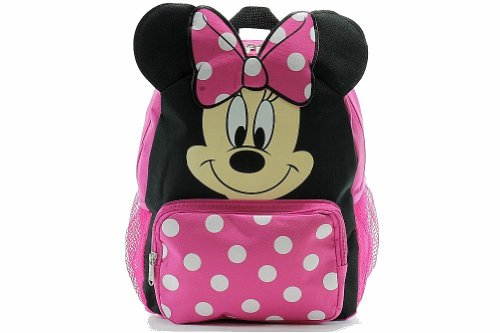 Small Backpack - Disney - Minnie Mouse - Happy Face by Disney