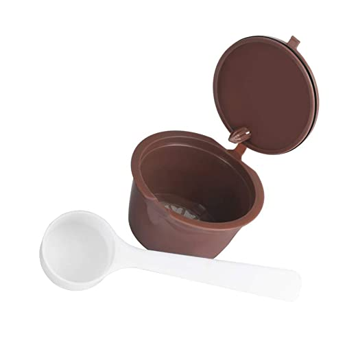 Monbedos - Cápsula de café reutilizable y recargable para cápsulas ...
