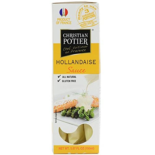 French Hollandaise Sauce - Hollandaise Sauce 5.07oz. Christian Potier
