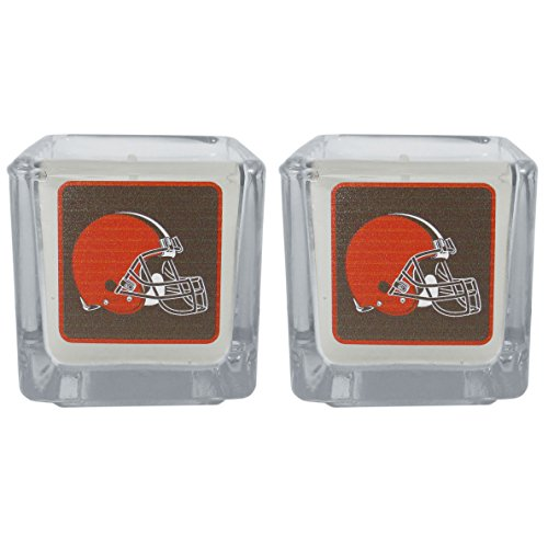 NFL Cleveland Browns Graphics Candles, Set of 2