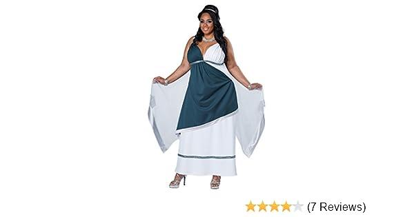 California Costumes Womens Plus-Size Roman Beauty Goddess Queen Long Dress Plus
