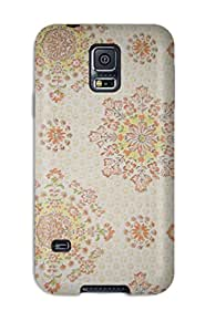 Protective Tpu Case With Fashion Design For Galaxy S5 (vintage)