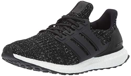 adidas Performance Men's Ultra Boost M Running Shoe, Black/Black/Solar Yellow, 12 M US