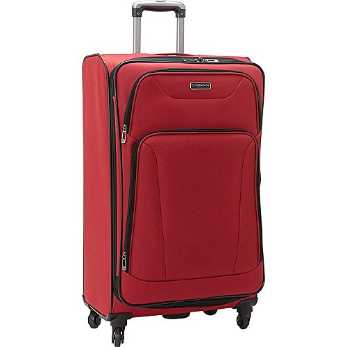 Heritage Wicker Park 28 Inch Upright Suitcase, Red