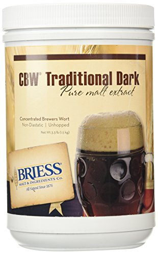 (Briess Liquid Malt Extract - Traditional Dark - 3.3 lbs.)
