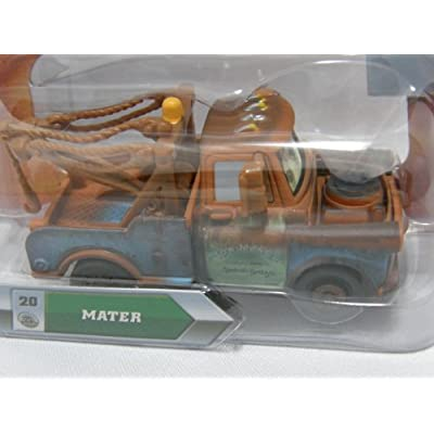 Disney Pixar Cars Mater with Lenticular Eyes: Toys & Games