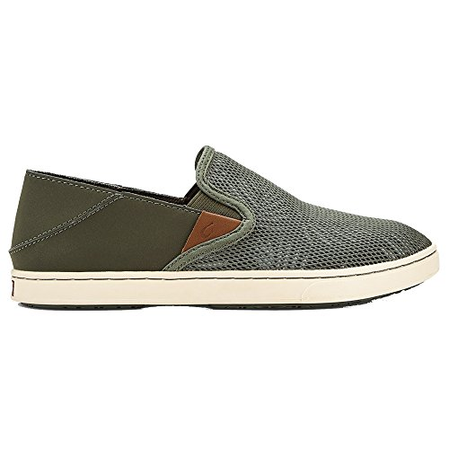 Olive Dusty - OLUKAI Pehuea Shoes - Women's Dusty Olive/Palm 9