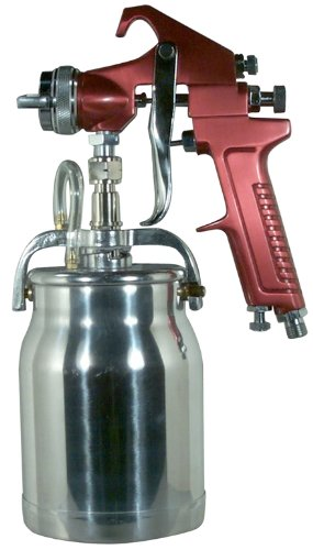Astro 4008 Spray Gun with Cup, Red Handle, 1.8mm Nozzle