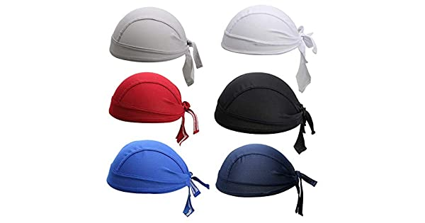 Aiyuda Sombrero de Pirata de Secado r/ápido Multiusos Banda para Sudar Transpirable Envolturas para Ciclismo Gorra para Correr