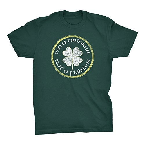 ShirtInvaders I'm A Drinker Not A Fighter - Irish St Patricks Day Shirt - (Im Drinker Not Fighter T-shirt)