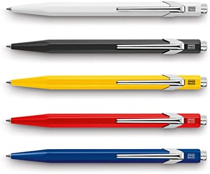 Caran D/'Ache 849 Ballpoint Pen You Colour My World White