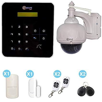 Alarma Casa gsm Negra A9 con cámara Domo HD 720P: Amazon.es ...