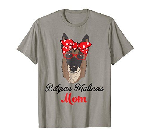 Funny Hanging With Belgian Malinois Mom T Shirt For Women