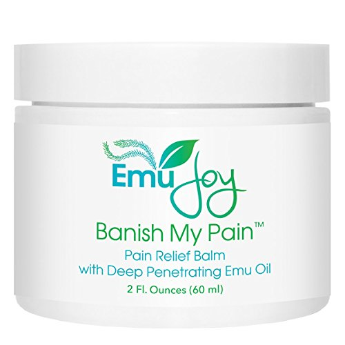 Banish My Pain Emu Oil and Arnica Balm