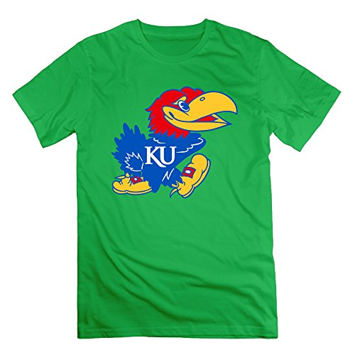 Memoy Men's University of Kansas T-Shirts Casual 3X -