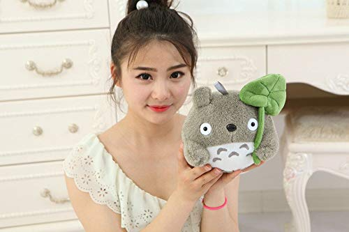 YOYOTOY Small Cute Plush Totoro Toy New Lotus Leaf Totoro Doll Classic Expression Totoro Doll Gift About 25Cm Must Have Gifts BFF Gifts The Favourite Toys Superhero Dream LOL UNbox