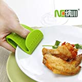 BeesClover Silicone Insulating clamp (4pcs/lot) Microwave Oven Slip-Resistant Anti-hot Large Silica Gel Clip Show