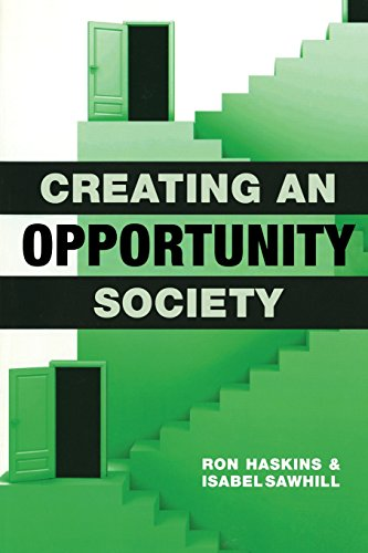 Creating an Opportunity Society